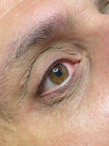 PMU eyeliner Man